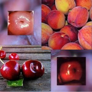 Шейка матки похожа на персик, вишню, сливу